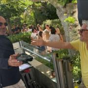 Le dimanche Le Petit Nice du chef Gérald Passédat à Marseille passe en version Lounge