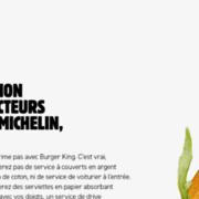 Burger King Belgique réclame l'obtention d'une étoile Michelin, il s'adresse aux inspecteurs de guide