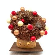 Une Bûche, Un Jour – La Couronne aux épices de Noël par Nicolas Guercio à Hôtel Lutetia Paris Rive Gauche