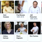 Popularité des chefs de cuisine et pâtisserie sur le Web – Anne-Sophie Pic en tête de liste