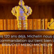 Georges Blanc – 40 ans de trois étoiles – 120 ans d'histoire liée au guide Michelin pour la Maison Blanc