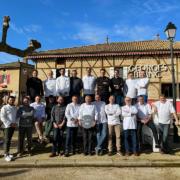 Georges Blanc réunit à Vonnas les chefs du département de l'Ain pour fêter le guide Michelin 2021