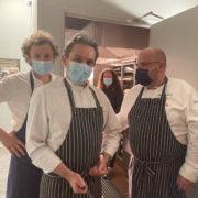 Refettorio Paris – Le soir oùles chefs Stéphane Buron, Boris Campanella, Maxime Bonnabry-Duval et Food&Sens ont cuisinéensemble !