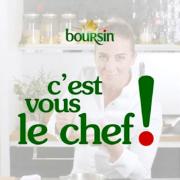 Amandine Chaignot cuisine pour Boursin