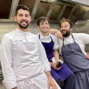 Un dîner pour le climat avec Juan Fernando Barajas, Gianmarco Gorni et Eduardo González