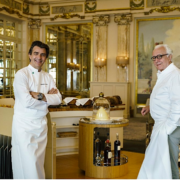 Déjeuner à 4 mains pour fêter l'arrivée du chef Yannick Alléno à Monaco