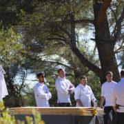 À Aix-en-Provence, Julien Le Goff sert un dîner en montagne, et Matthieu Dupuis-Baumal prépare une table japonaise