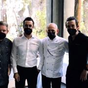 4 grands chefs Espagnols cuisinent pour la cuvée » Plénitude 2 » de Dom Perignon 2003