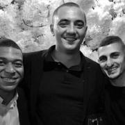 3 chefs 3 étoiles pour cuisiner pour le mariage du footballeur Marco Verratti autour du chef Boris Campanella à l'hôtel De Crillon
