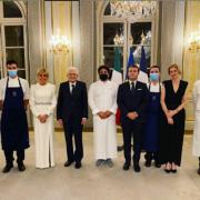 Pour les 6 mois de Présidence Européenne Française à venir, les chefs français signeront les menus des repas officiels