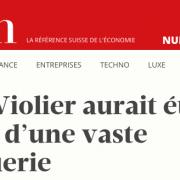 Le chef Benoît Violier aurait été victime d'une escroquerie de grande envergure.