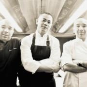 Un plat des frères Pourcel sur la carte du restaurant André à Singapour pour célébrer la fermeture du Jardin des Sens