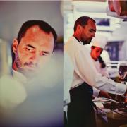 ARIBERT – le livre d'un chef qui vit intensément avec gourmandise