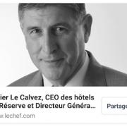 Didier Le Calvez rejoint la Réserve à Paris et devient CEO des Hôtels de Michel Reybier