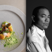 OCTAPHILOPSOPHIE – Le livre de recettes du chef André Chiang sort ce jour en France – Il sera à Paris les 20 et 21 juin prochain