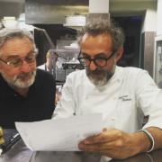 Massimo Bottura et Robert de Niro ensemble pour un projet à NYC en 2017 dans le Bronx ?