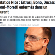 » La Petite Maison » grosse frayeur pour les stars le soir de l'attentat de Nice