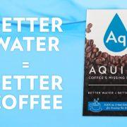 Aquiem – Aux États-Unis une eau a été spécialement crée pour faire couler un » café parfait «