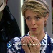 Rentrée chargée pour Julie Andrieu sur France 3 où elle retrouve Thierry Marx