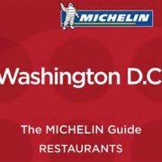 Michelin Washington D.C. 2017 – Le palmarès… Pas de trois étoiles pour la première édition du guide.