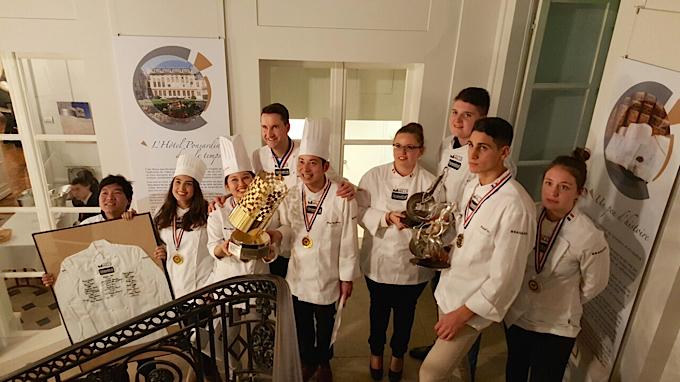 Troph e mille 2016 un concours qui r unit la jeune Cuisine plus reims