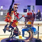 La France remporte le titre de championne du monde de pâtisserie avec une pièce sucrée très Rock' N Roll