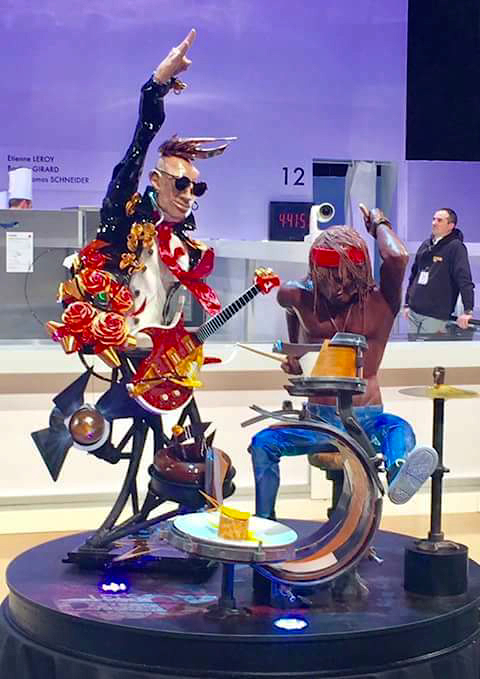 La France remporte le titre de championne du monde de pâtisserie avec une pièce sucrée très Rock