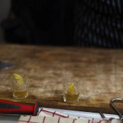 Paris cocktail week #2: saucisse-cocktail à Viande & Chef