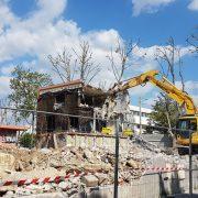Dernier coup de pelle sur l'ancien Jardin des Sens – Renaissance en mai 2019