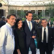 Dîner de soutient en l'honneur du CIO pour les JO Paris 2024