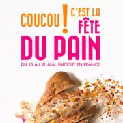 15-21 mai 2017, c'est la Fête du Pain partout en France