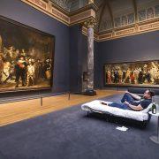 RijksMuseum – Il a pu dormir face aux plus grand Rembrandt et profiter d'une room service étoilé Michelin