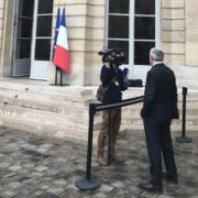 Tourisme 2019 à Matignon – un tour de table réunissant un chef, la DG de Booking.com, des acteurs de l'hôtellerie et du voyage