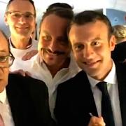 Le Président Macron aime les MOF pâtissiers… et les pâtisseries !