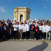 TOQUÉS D'OC  … Le plus grand banquet gastronomique hier avec 14 chefs de Montpellier