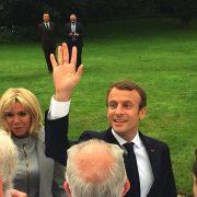 Le déjeuner des Grands Chefs au Palais de l'Elysée … Emmanuel Macron entouré de 180 chefs
