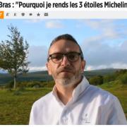 Sébastien Bras rend ses étoiles – l'impressionnante couverture de presse … un CHOC gastronomique !