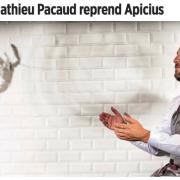 Mais où va le chef mathieu Pacaud … et bien peut-être à Apicius indique le magazine Le Point