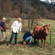 Les chefs Anthony Bourdain et Éric Ripert dans les Alpes françaises à la découverte des bons produits