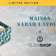 Pour cet hiver Sushi Shop a choisi une version féminine, Sarah Lavoine et Anne-Sophie Pic