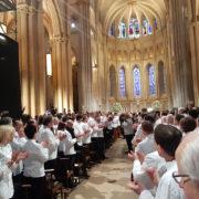 Paul Bocuse quitta Lyon sous les applaudissements de milliers de chefs