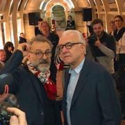 Les chefs aux côtés de Massimo Bottura au Refettorio – Food For Soul