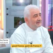 Guy Savoy » La gastronomie c'est bon pour notre économie, 2 millions d'emplois directs ou indirects «