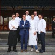 Yannick Alléno cuisine pour Van Cleef & Arpels au Aman Summer Palace en Chine
