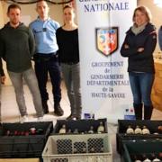 Le Chef Jean Sulpice récupère les vins qui lui avait été volés