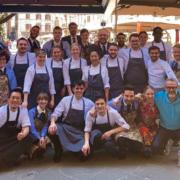 À l'Osteria Garden by Gucci le chef Massimo Bottura mêle meilleurs produits d'Italie et cuisine du monde