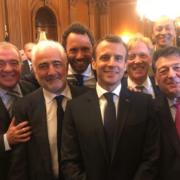 Dîner à la Maison Blanche, avec les plus proches invités du Président Macron