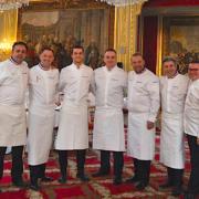 La Team France du Bocuse d'Or dans les cuisines du Palais de l'Élysée