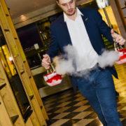 Vincent Dumesnil Mixologue pour Diageo combine l'univers du cocktail et de la grande cuisine