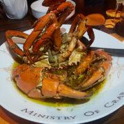 Ministry Of Crab – le restaurant classé au 50 Best Asia de Dharshan Munidasa à Colombo fait courir les amateurs de crabes du monde entier